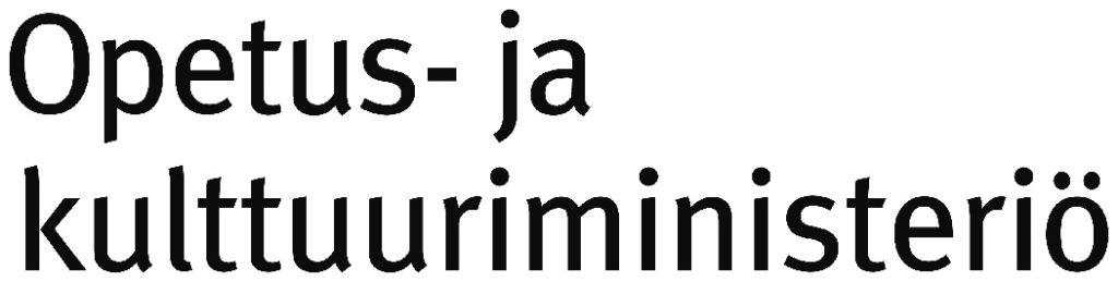 opetus ja kulttuuriministerio logo